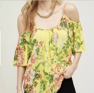 ANTHROPOLOGIE Plenty by Tracy Reese Top Size Large